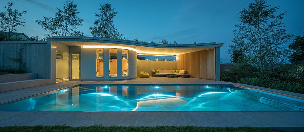 pool haus architekt dipl ing matthias viehhauser salzburg sterreich. Black Bedroom Furniture Sets. Home Design Ideas